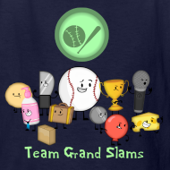 Design ~ Kid's Grand Slams T-Shirt
