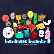 Design ~ Kid's Inanimate Insanity II (Season 2) Full Cast Shirt *NEW*
