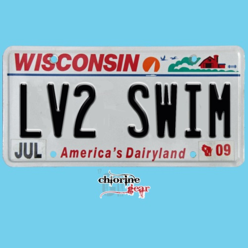 WI license plate
