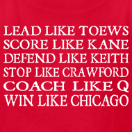 Design ~ Lead like Toews, Score like Kane