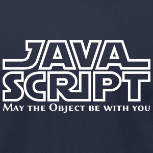 Javascript - May the Object be with you - Men's T-Shirt by American Apparel
