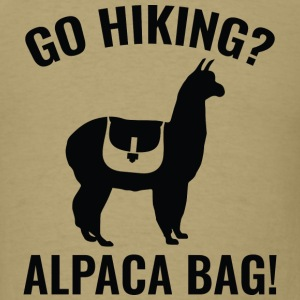 Go Hiking? Alpaca Bag! - Men's T-Shirt