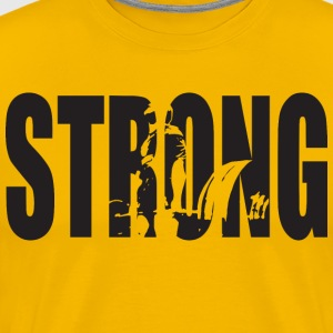 STRONG - Deadlift T-Shirts - Men's Premium T-Shirt