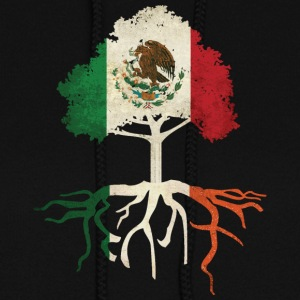 Mexican Irish Mexico Ireland Roots Hoodies - Women's Hoodie