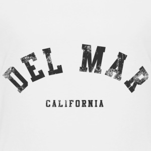 Classic Throwback Del Mar Cali California  Baby & Toddler Shirts - Toddler Premium T-Shirt