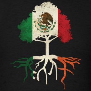 Mexican Irish Mexico Ireland Roots T-Shirts - Men's T-Shirt