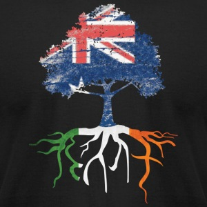 Australia Australian Irish Ireland Roots T-Shirts - Men's T-Shirt by American Apparel