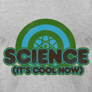 retro science teacher humor - Men's T-Shirt by American Apparel