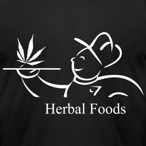 Herbal Foods - Men's T-Shirt by American Apparel