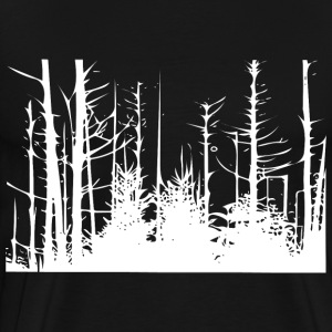 Forest Trees T-Shirts - Men's Premium T-Shirt