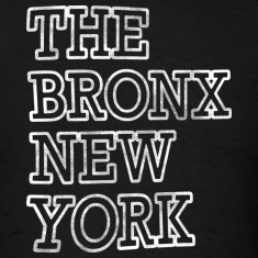 The Bronx New York Outline T-Shirts