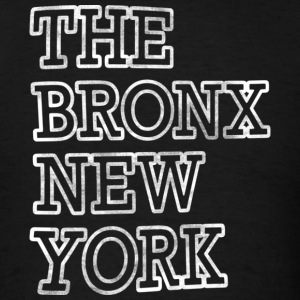 The Bronx New York Outline T-Shirts - Men's T-Shirt