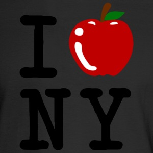 I Apple New York City Long Sleeve Shirts - Men's Long Sleeve T-Shirt