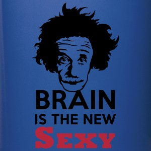 Brain is the new Sexy Mugs & Drinkware - Full Color Mug