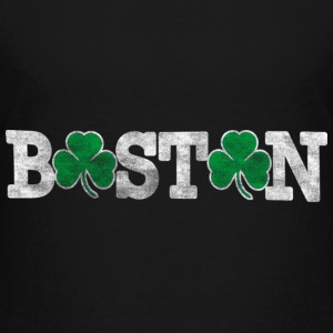 Distressed Boston Shamrocks Kids' Shirts - Kids' Premium T-Shirt