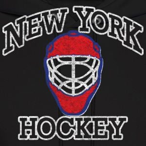 New York Goalie Hockey Mask Hoodies - Men's Hoodie