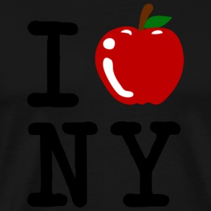 I Apple New York City T-Shirts - Men's Premium T-Shirt
