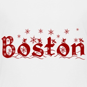 Cute Holiday Christmas Boston Baby & Toddler Shirts - Toddler Premium T-Shirt