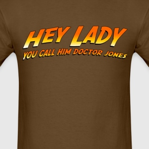 Doctor Jones T-shirt (1) - Men's T-Shirt