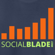 Design ~ Social Blade Orange Youth T-Shirt