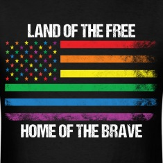 Land Of The Free Home Of The Brave T-Shirts