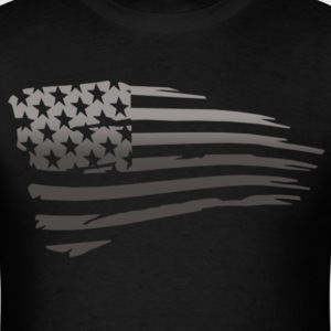 Battle Torn Flag T-Shirts - Men's T-Shirt