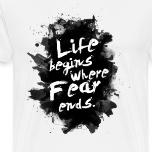 life_fear - Men's Premium T-Shirt