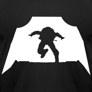Skydiving - Parachuting T-Shirts - Men's T-Shirt by American Apparel