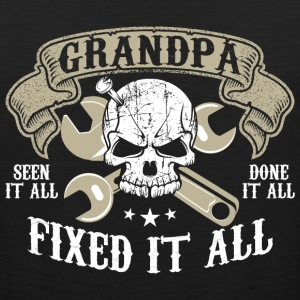 Seen It All Done It All Grandpa Fixed It All - Men's Premium Tank