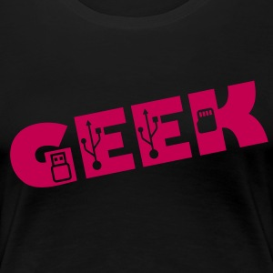 geek - Women's Premium T-Shirt
