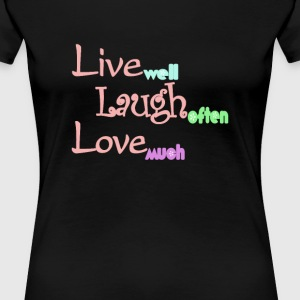 Live - Laugh - Love - Women's Premium T-Shirt