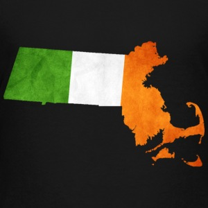 Cool Irish Flag Massachusetts  Kids' Shirts - Kids' Premium T-Shirt