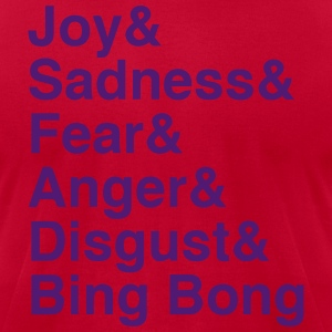 Inside Out List (Bing Bong Variant Flocked print) T-Shirts - Men's T-Shirt by American Apparel