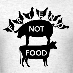 Friend Not Food - Men's T-Shirt