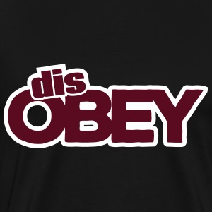 Dis-OBEY - Men's Premium T-Shirt