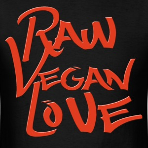 Raw Vegan LOVE 2015 T-Shirts - Men's T-Shirt