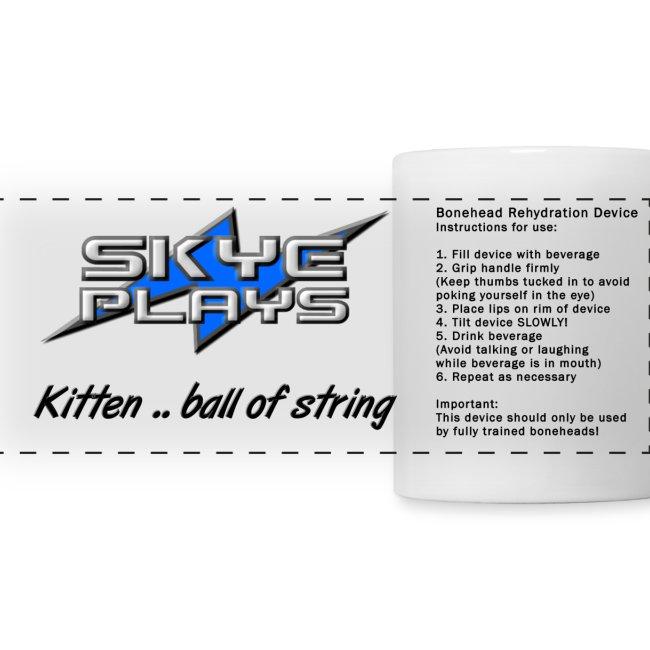 Kitten .. ball of string BRD (Mug)