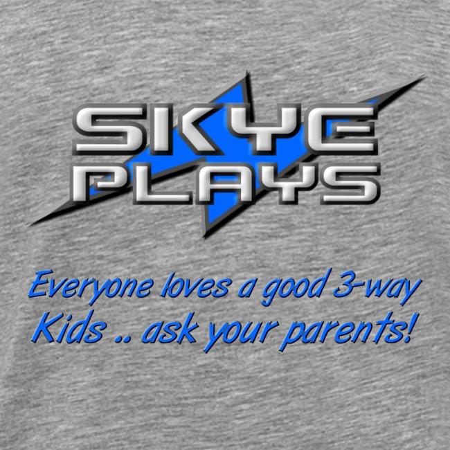 Kids .. ask your parents (Blue)