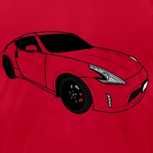 Fast Car - Men's T-Shirt by American Apparel