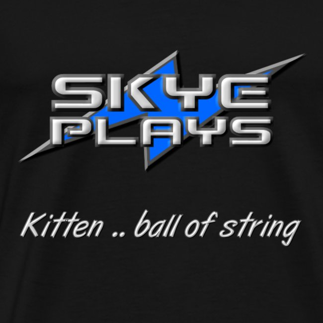Kitten .. ball of string (Steel)