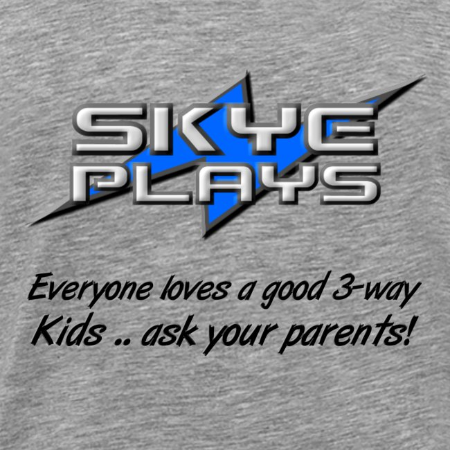 Kids .. ask your parents (Black)
