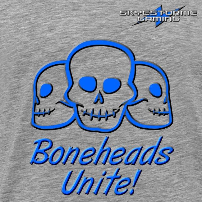 Boneheads Unite! (Blue)