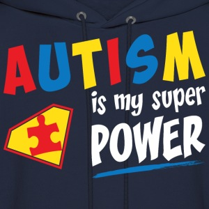 Autism Is My Power - Men's Hoodie