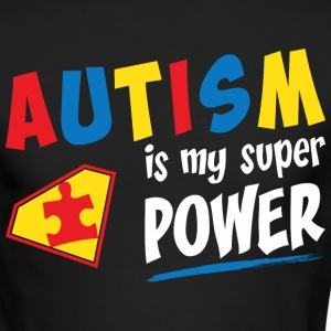 Autism Is My Power - Men's Long Sleeve T-Shirt by Next Level