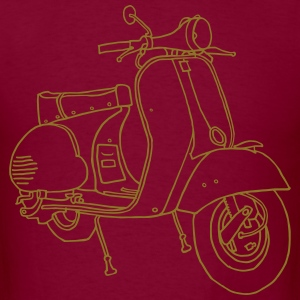 Motor scooter - Men's T-Shirt