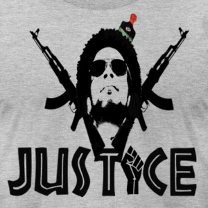 JUSTICE T-Shirts - Men's T-Shirt by American Apparel