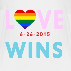 Love Wins! Celebrate the SCOTUS Ruling! - Kids' Premium T-Shirt