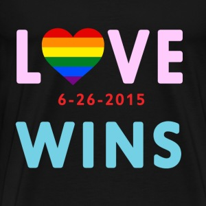 Love Wins! Celebrate the SCOTUS Ruling! - Men's Premium T-Shirt