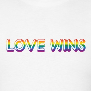 Love Wins - Men's T-Shirt