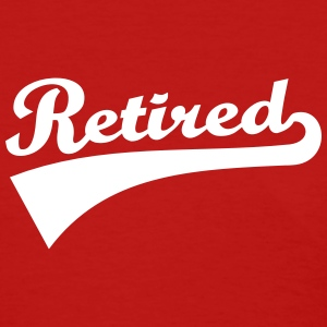 Retired Women's T-Shirts - Women's T-Shirt